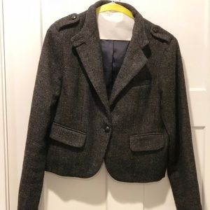 American Eagle Outfitters. Tweed Cropped Blazer